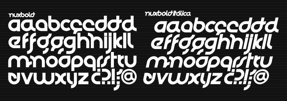 Nuy Bold/Nux Italic