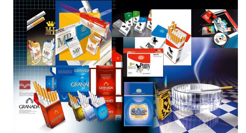 Brand Packaging Tobaccos